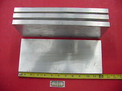 """4 Pieces 5/8""""x 5"""" ALUMINUM 6061 FLAT BAR 12"""" Long T6511 Solid Plate Mill Stock"""
