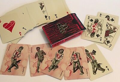 PEARL JAM Halloween 'The Undead' Playing Cards / New!