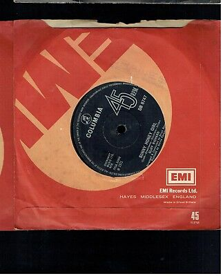 Cliff Richard Suny Honey Girl 45 Columbia 1971