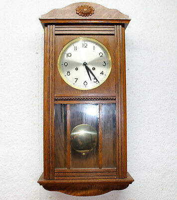 Old Wall Clock Regulator Chime Clock - FHS -FRANZ HERMLE & SOHN