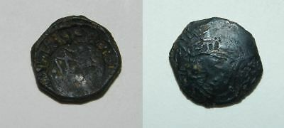 Old Middle Ages Coin From Sicily - Unidentified
