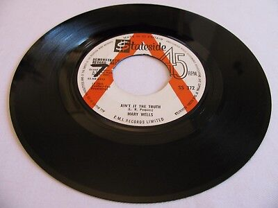 Mary Wells - Ain't It The Truth / Stop Takin' Me For Granted - Stateside Dj