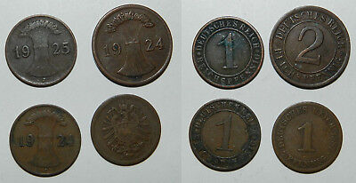 Germany : 4 Old Coins