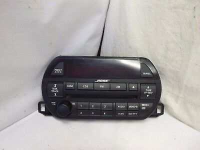 02 03 Nissan Altima Bose Radio 6 Disc Cd Face Plate PY030 28185-8J200 VAB107