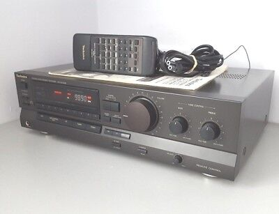 Technics SA-GX130 Stereo receiver integrated amplifier tuner - remote & manual