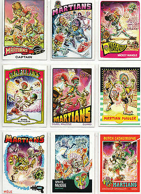 Mars Attacks! Occupation - Complete 9 Card Martian Superstar Chase Set NM