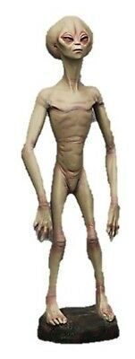 Alien Encounter Life Size Statue Outer space Movie Props Decor