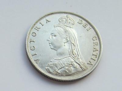 Queen Victoria 1887 silver Florin High Grade and a very good collectable coin