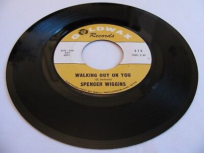 Spencer Wiggins - Walking Out On You / Old Friend - Goldwax