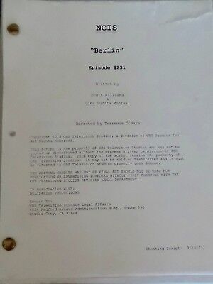 Ncis Tv Series Show Script Episode Berlin Mark Harmon