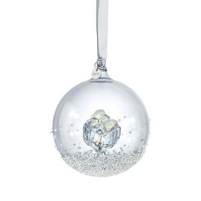 Swarovski Christmas Ornament CHRISTMAS BALL 2016 Gift Large #5221221 New