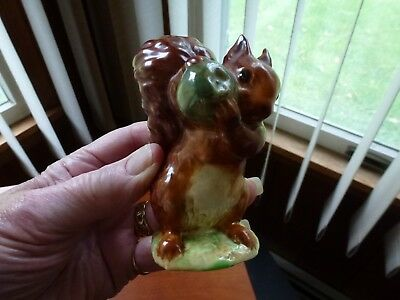 "Beatrix Potter Squirrel Nutkin 3 3/4"" high figurine Beswick Eng. F.Warne & Co"