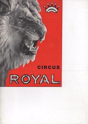 "@@ - Cirque - Circus - Circo - "" ROYAL  "" - @@"