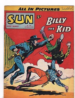 The Sun Comic   # 348  1955    Dick Turpin