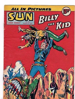 The Sun Comic   # 351  1955    Dick Turpin