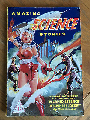 Amazing Science Stories - British Edition - SCARCE UK retitled pulp