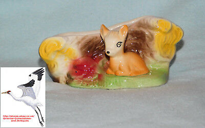 Eastgate Fauna Fawn Posy Vase Early Eastgate Mark Pre 1967 Pattern# 46