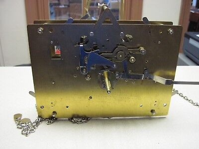 Emperor (Hermle) Chain Drive Grandfather clock movement for parts or repair
