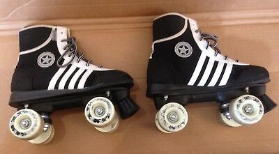 Retro Roller Skates 4 Wheels Size 6