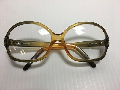 70s 80s Vintage Large Eye Glasses Authentic VIENNALINE Germany Hipster Frames