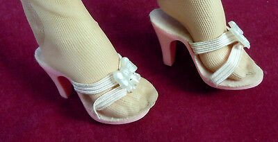 "Vintage Pink Shoes Heels for Madame Alexander 20"" Cissy Miss Revlon Dollikin"