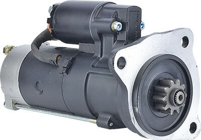 New Starter For CAV PLGR; 12-Volt; CW; 10-Tooth, 1320F092, 1320G092, CA45129
