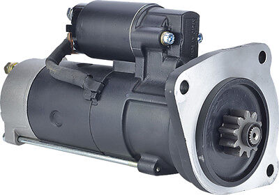 New Starter For CAV PLGR; 12-Volt; CW; 10-Tooth, S1151210, S115A12-10, -30M