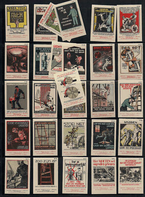 Poster Cinderella Advertising stamp collection lot