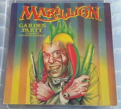 "MARILLION Garden Party 12"" VINYL EP Vinyl EX Sleeve VG Free 1st Class Post UK"