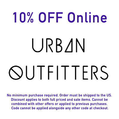 Save with 30 Urban Outfitters coupons, including 1 coupon codes. Use a Urban Outfitters promo code for the best discount. Today's promo: Gifts For $25 & Under.