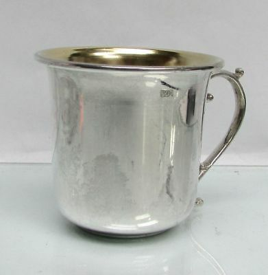 Vintage .900 (Coin) Silver Childs Cup