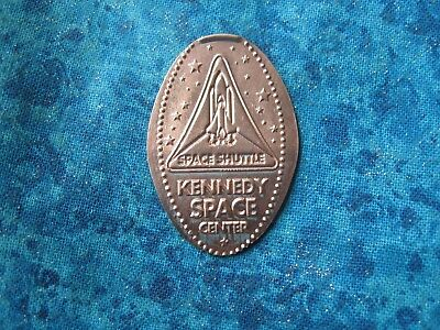 KENNEDY SPACE CENTER SPACE SHUTTLE Elongated Penny Pressed Smashed 20