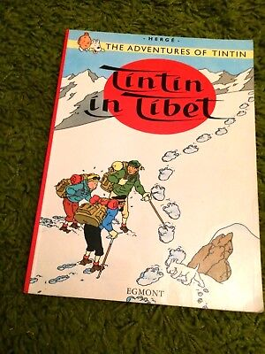 Herge ..The Adventures of Tintin ..TINTIN IN TIBET ...2002