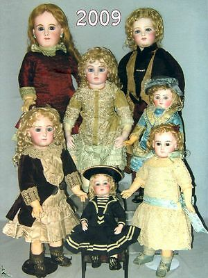5 Dolls Auction catalogues Toys Games Automatons - Year 2009