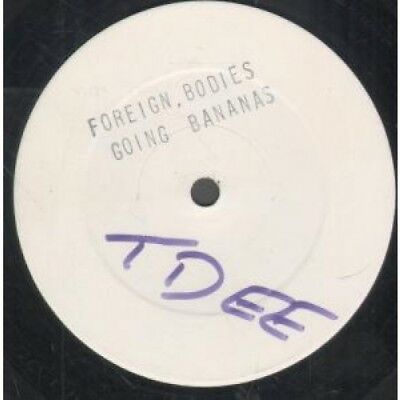 """FOREIGN BODIES Going Bananas 12"""" VINYL UK Gc 2 Track Promo With Stamped Artist"""