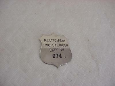 Original Two Cylinder JOHN DEERE Expo IV 1994 Participant Badge Number 074