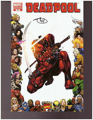 Deadpool #13 Variant Signed Shawn Crystal #265