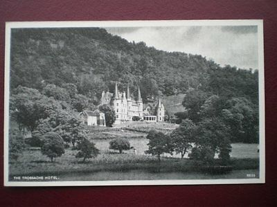 Postcard Stirlingshire The Trossach Hotel