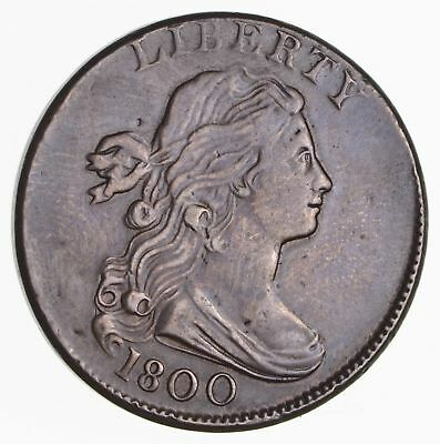 1800 Draped Bust Large Cent- Near Circulated *2512