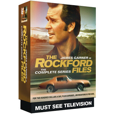 NEW The Rockford Files Complete 6 Season DVD Set - 120 Remastered Episodes In HD