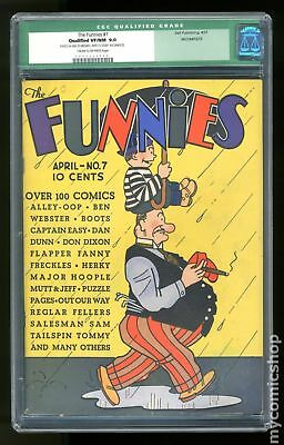 Funnies, The (1929 Dell) #7 CGC 9.0 SS 0004220009