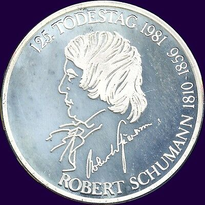1981 Germany 125th Silver Medal (15.1 grams 35 mm)
