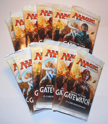 MTG Magic The Gathering Oath of the Gatewatch - 12x Sealed Booster Packs