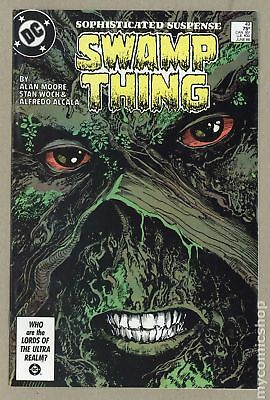 Swamp Thing (1982 2nd Series) #49 VF- 7.5