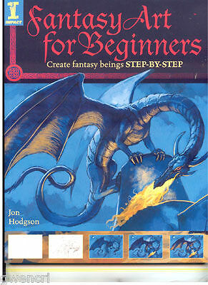 Fantasy Art Book - Fantasy Art For Beginners