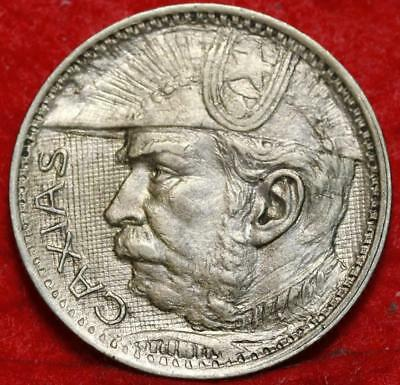 1935 Brazil 2000 Reis Foreign Coin Free S/H
