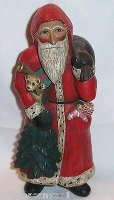 Leo Smith MIDWEST Old World Santa Number 1338 COA Story Card Excellent Condition