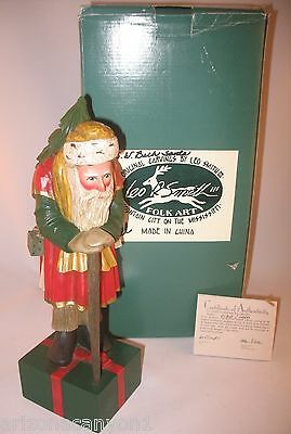 Leo Smith S W Bach (Walking Stick) Santa #184 Midwest Box COA Excell Cond.