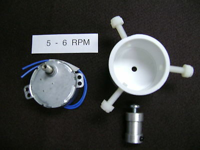 5-6  RPM  ROD DRYER-DRYING  MOTOR  with Rod Chuck