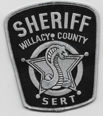 SWAT SRT SERT Willacy County Sheriff State Texas TX patch Cobra